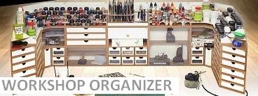 Modular workshop organizer system