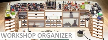 Modular workshop organizer system